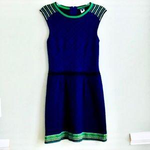 Nanette Lepore Blue&Green Dress Size Small